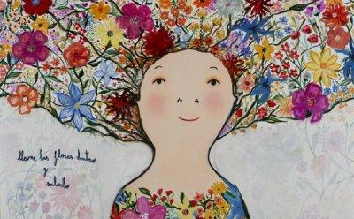 [ET-ENT 갤러리] '행복을 그리는 화가 에바 알머슨'(1) 밝음과 긍정성은 의지와 노력의 산물