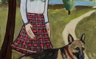 [ET-ENT 갤러리] '행복을 그리는 화가 에바 알머슨'(2) 자연에 대한 교감, 그림의 개는 자연과 화가의 매개체