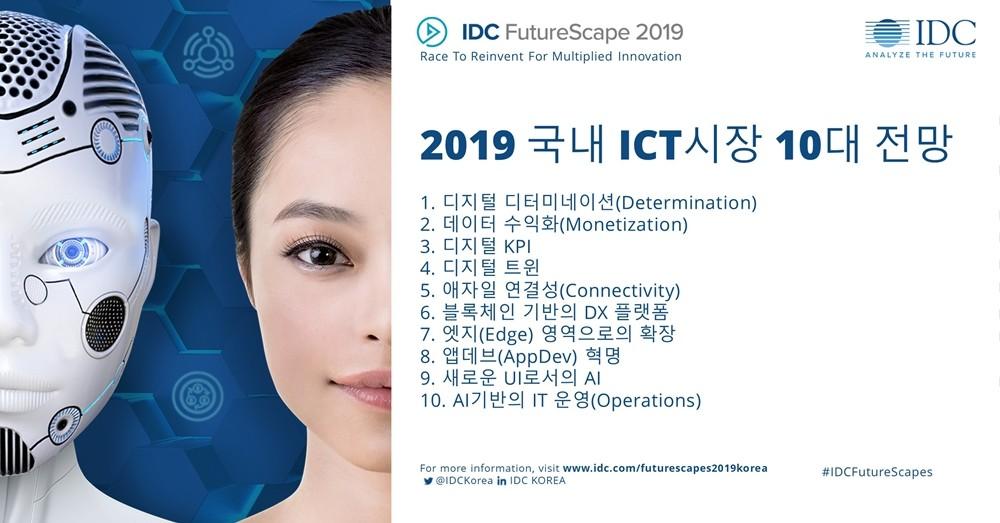 2019년에 주목해야 할 국내 ICT 10대 트렌드