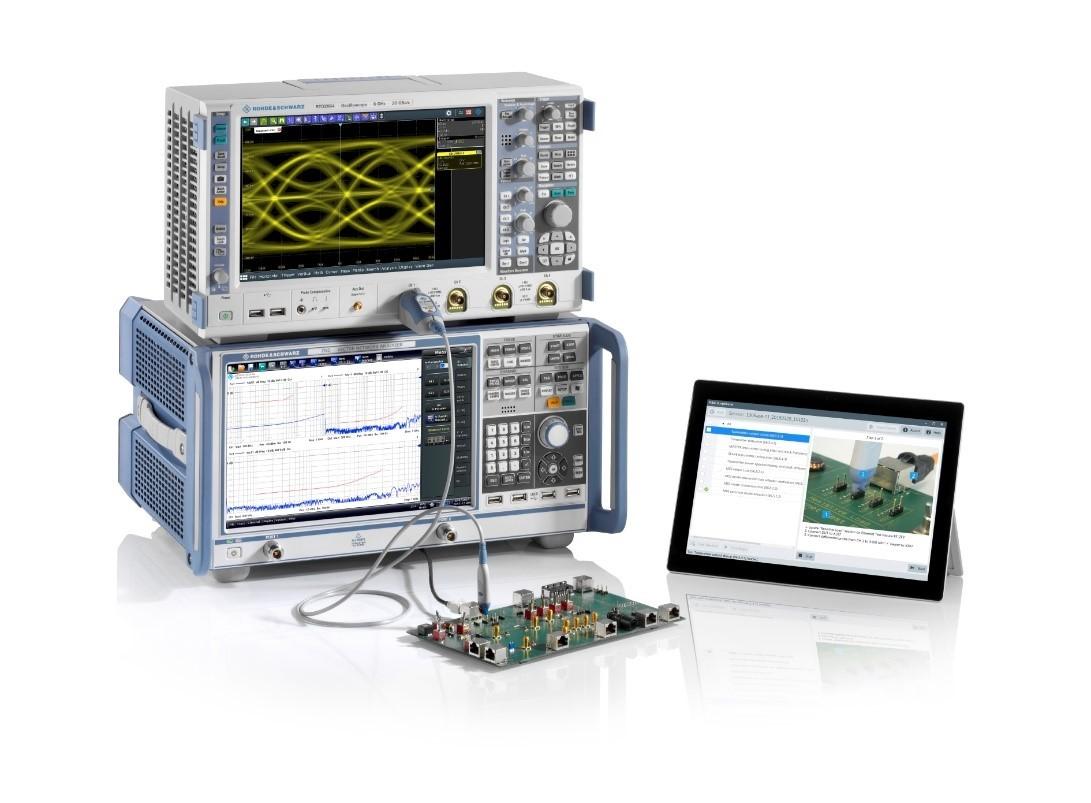 R&S RTO 오실로스코프와 R&S ZND 벡터 네트워크분석기를 이용한 차량용 이더넷 측정