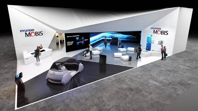 현대모비스, CES서 자율주행차 혁신기술 공개한다