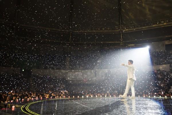 2018 김범수 콘서트 '명품BACK: 싹Three' 공연사진. 사진=KSPO, 영엔터테인먼트, 딜라잇컴퍼니주식회사 제공
