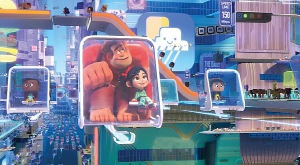 '주먹왕 랄프 2: 인터넷 속으로' 스틸사진. 사진=월트 디즈니 컴퍼니 코리아 제공