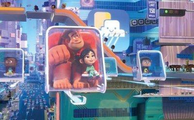 [ET-ENT 영화] '주먹왕 랄프 2: 인터넷 속으로' 역대 14명의 디즈니 프린세스 동시 캐스팅