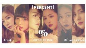 에이핑크, 새 앨범 'PERCENT' 롤링티저 공개…'%%(응응)' 등 6곡 포인트 관심
