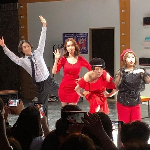 'Shop on the Stage 홈쇼핑 주식회사' 공연사진. 사진=김나희 인스타그램 캡처