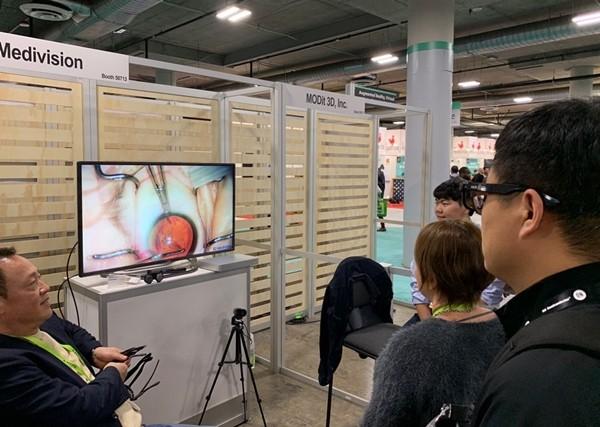 [CES 2019] 3D 메디비전, 3D 의료 교육 콘텐츠 선봬
