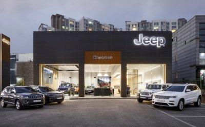 지프(Jeep), 천안 전용 전시장 오픈