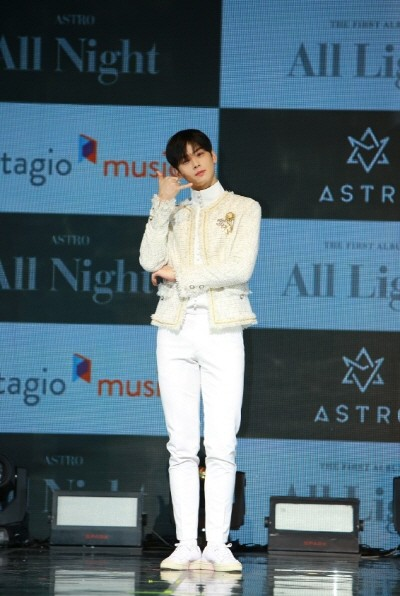 ASTRO 1ST Album 'All Light' 발매기념 '아스트로 쇼케이스' 공연사진. 사진=판타지오 제공