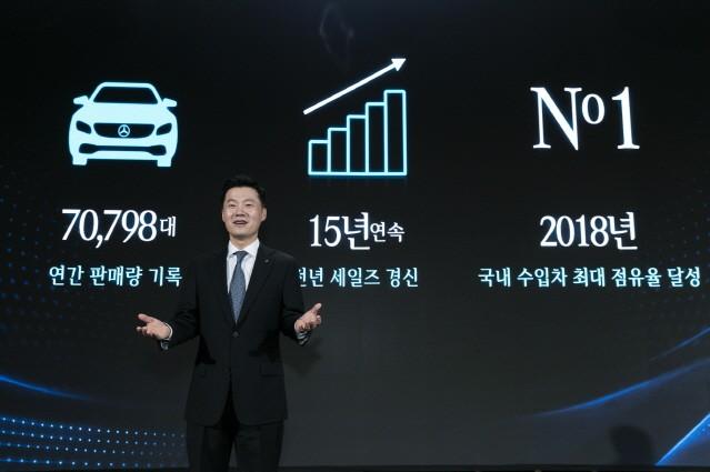"""실라키스 벤츠 사장 """"EQ 브랜드로 전동화 시대 이끈다"""""""