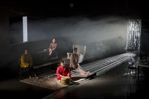 국립창극단 신창극시리즈3 '시(詩)' 공연사진. 사진=국립극장 제공