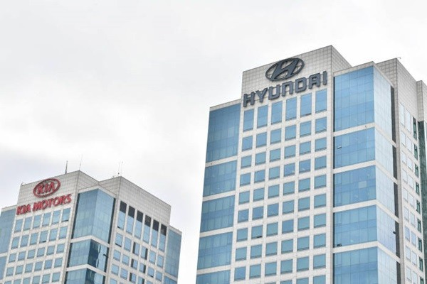 Hyundai Motor Company's headquarters in Yangjae-dong