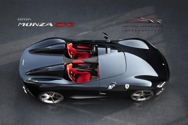 페라리 몬자 SP2, 국제자동차페스티벌서 '가장 아름다운 슈퍼카'로 선정