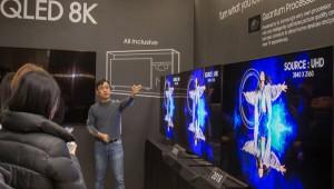 삼성 'QLED 8K' 상반기 세계 주요국 출시...초대형 프리미엄 TV 시장 공략