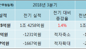 [ET투자뉴스]현대상선, 18년4분기 실적 발표