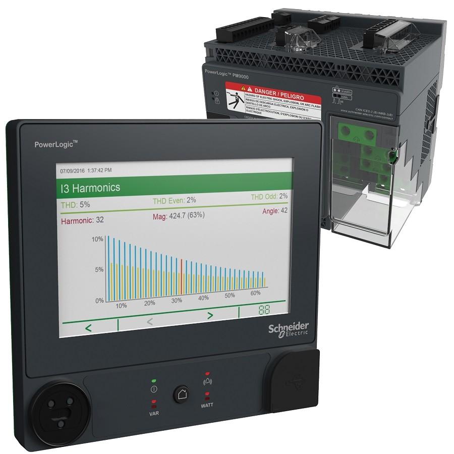슈나이더일렉트릭 전력 품질 미터기 'PowerLogic ION9000'