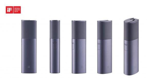 KT&G의 궐련형 전자담배 '릴 하이브리드(lil HYBRID)'와 '릴 미니(lil mini). 사진=KT&G 제공