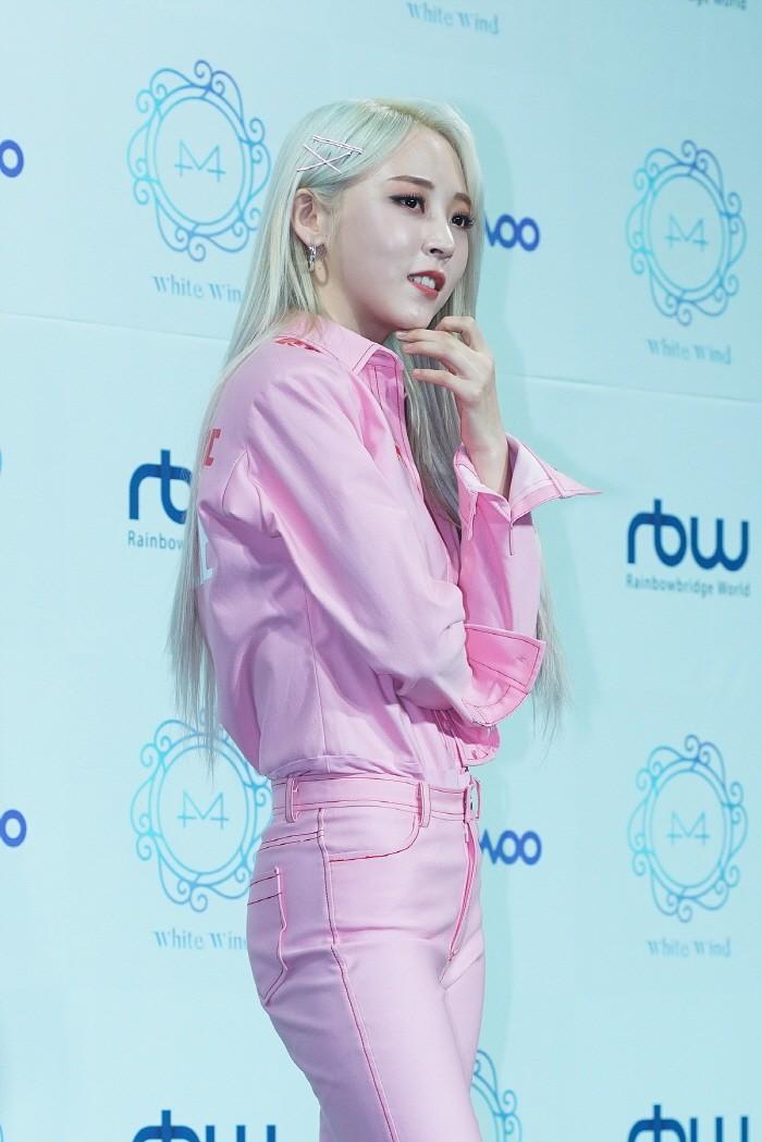 14일 서울 마포구 홍대 무브홀에서는 마마무 미니9집 'White Wind(화이트윈드)' 발매기념 쇼케이스가 열렸다.