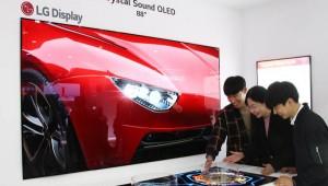 LG디스플레이, 中서 88인치 8K CSO 첫 공개…OLED TV 공세 포문