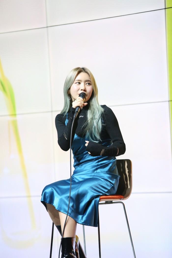 22일 서울 강남구 삼성동 슈피겐홀에서는 싱어송라이터 수란의 새 ep앨범 Jumpin' 음감회가 열렸다. (사진=밀리언마켓 제공)