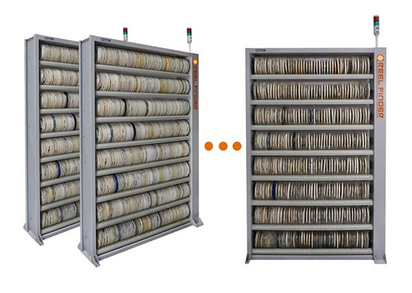 [EMK 2019] Ceyon Tell Inventory Introduces Automatic SMT Reel Material Management Solution, REEL FINDER