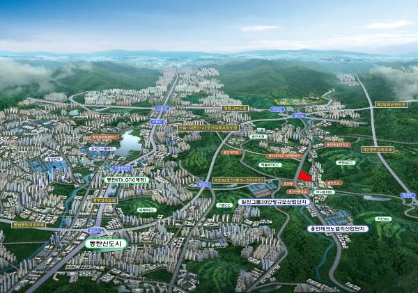 용인천리 테크노시티 서희스타힐스, 제2경부ㆍ국도84호선 등으로 주목