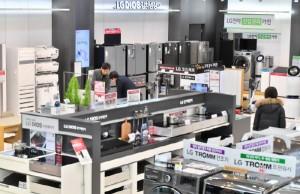 LG, 내수 판매 삼성 제쳤다