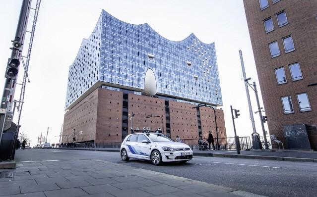 폭스바겐그룹, 독일 함부르크에서 고도의 자율주행 테스트 진행