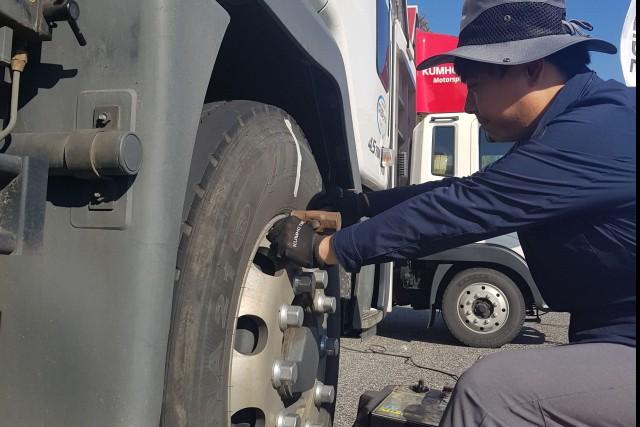 금호타이어, 트럭버스 타이어 무상점검 서비스 실시