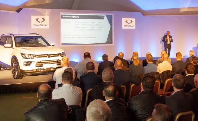 쌍용자동차, 유럽시장에 코란도 출시…판매 확대 '호기'