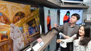 OLED TV 시장, 풀HD 지고 UHD 뜬다…대형·고화질화 대응