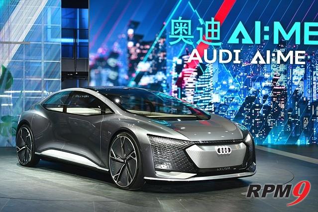 아우디, '상하이모터쇼'에 레벨4 자율주행차 선보여