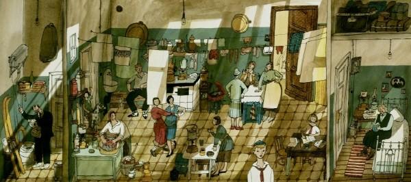아냐 데스니츠카야(Anya Desnitskaya, 러시아) '아파트: 러시아 100년 이야기(The Apartment: A Century of Russian History)'(1). 사진=남이섬교육문화그룹 제공