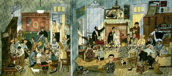 아냐 데스니츠카야(Anya Desnitskaya, 러시아) '아파트: 러시아 100년 이야기(The Apartment: A Century of Russian History)'(2). 사진=남이섬교육문화그룹 제공