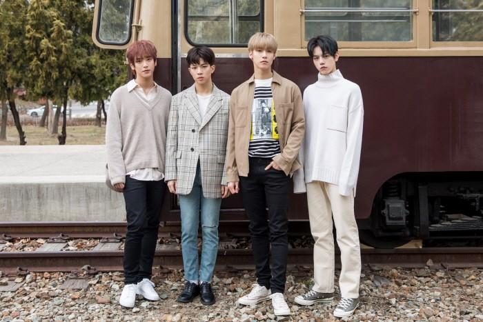 최근 서울 성수동 플레이스비브에서는 밴드 엔플라잉 새 앨범 '봄이 부시게' 인터뷰가 진행됐다. (사진=FNC엔터테인먼트 제공)
