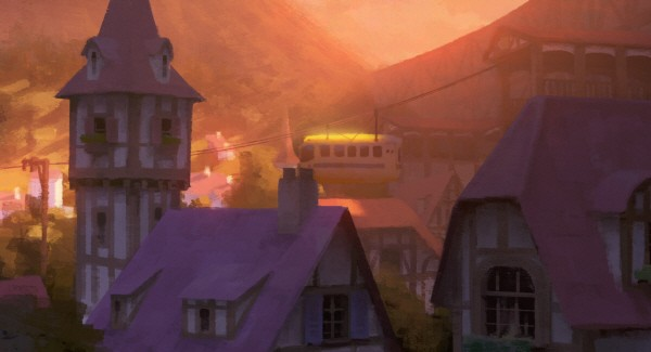 '톤코하우스 애니메이션展 : 호기심과 상상으로 그린 빛의 세계'. 사진=톤코하우스 제공