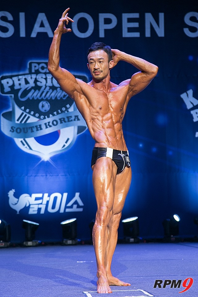 제7회 PCA코리아 스포츠모델 마스터즈 부문 우승 최인철 선수 (사진 황재원 기자)