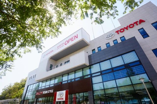 토요타, 구리 전시장·서비스센터 신규 오픈