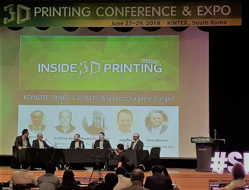 2018 인사이드 3D 프린팅 컨퍼런스& 엑스포. 사진제공=3DR홀딩스