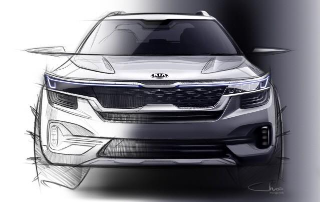 기아차, 하반기 선보일 고급 소형 SUV 이미지 공개