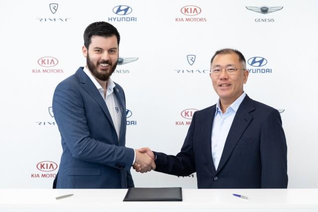 현대·기아차, '리막'에 투자…고성능 전기차 개발 도전