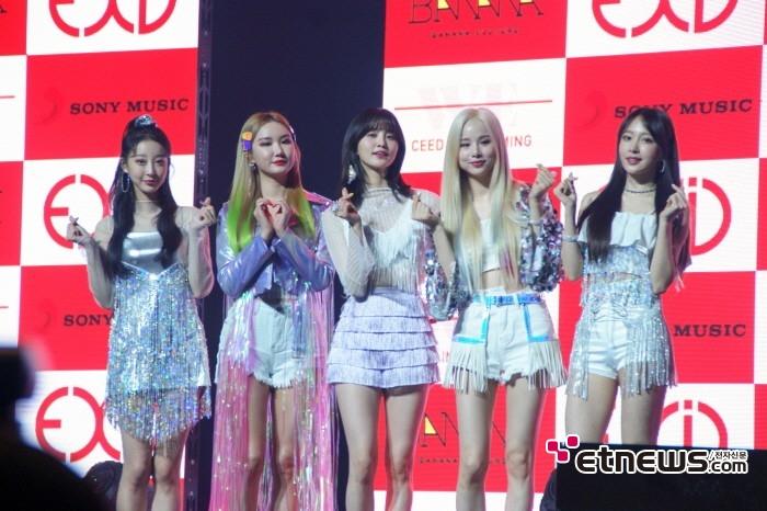 15일 서울 용산구 블루스퀘어 아이마켓홀에서는 EXID 새 미니앨범 'WE' 발매기념 쇼케이스가 열렸다.