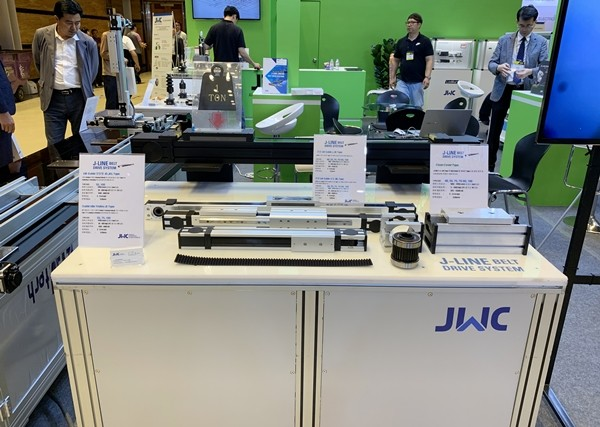 [EMK 2019] JWC Introduced 'J-LINE BELT DRIVE SYSTEM'