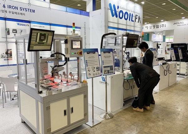 [EMK 2019] WooilFA introduced JAPAN UNIX' Solder Meister Line-ups