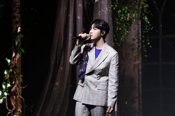 김재환 1st Mini Album 'Another' 발매기념 쇼케이스. 사진=스윙엔터테인먼트 제공
