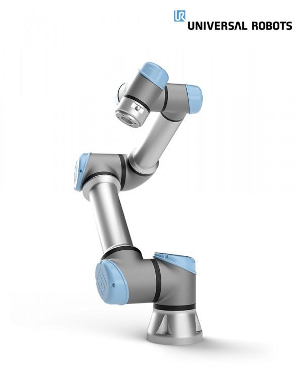 유니버설로봇의 협동로봇 라인 중 하나인 UR5e, 사진제공=유니버설로봇