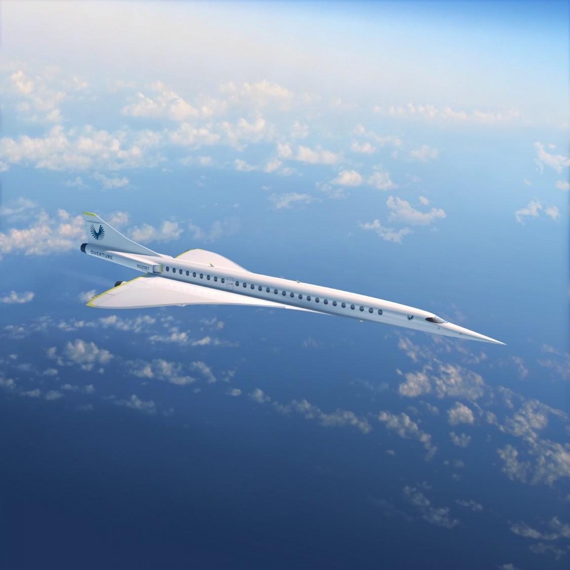 붐수퍼소닉(Boom Supersonic)의 마하 2.2의 초음속 여객기 '오버처(Overture)', 사진제공=붐수퍼소닉