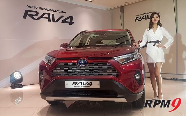 토요타, '뉴 제너레이션 RAV4' 공개…연간 3600대 판매 목표