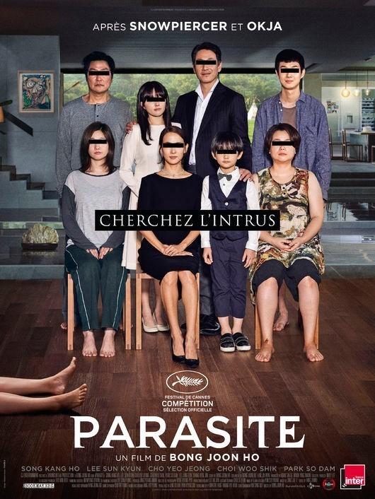 사진=영화 '기생충' 포스터