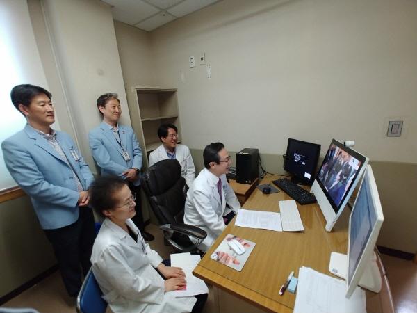 성애병원, 한-몽 원격협진진료로 의료분야 IT우수성 알려